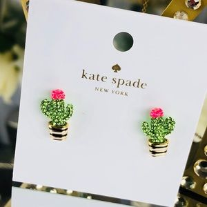 Kate Spade Jewelry Scenic Route Cactus Earrings Necklace Poshmark